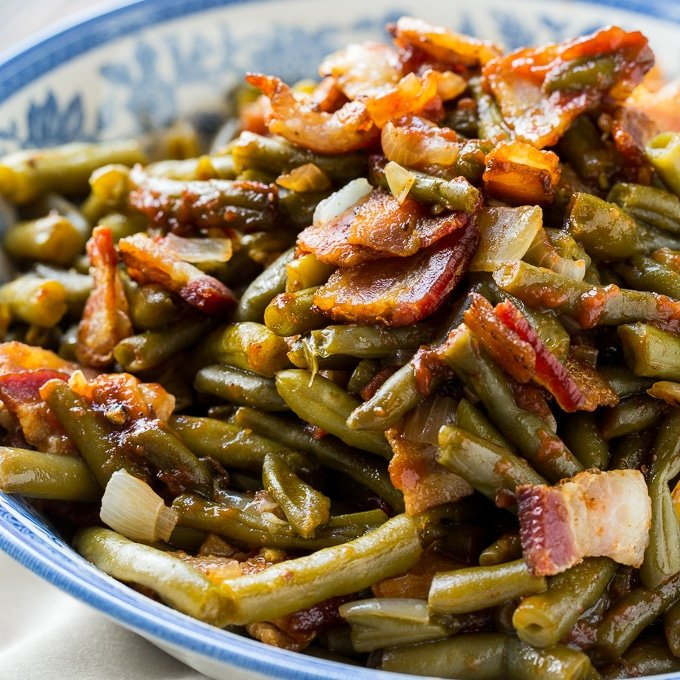 How to Make Barbecued Green Beans and Potatoes