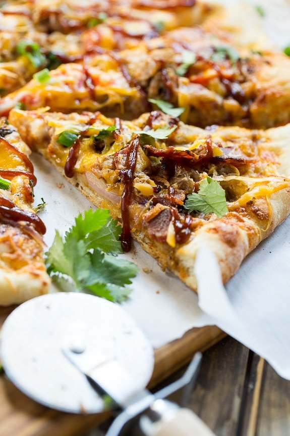 Southern BBQ Pizza with Pulled Pork