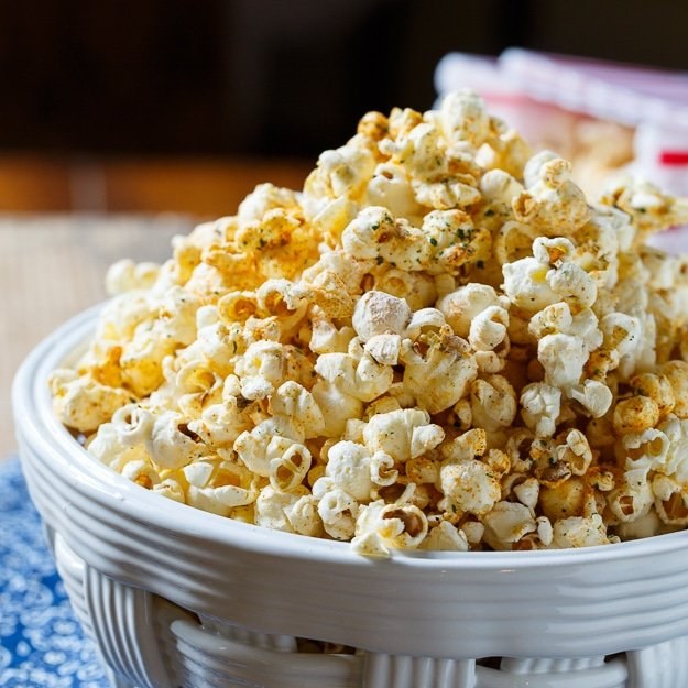 BBQ Ranch Popcorn - Spicy Southern Kitchen