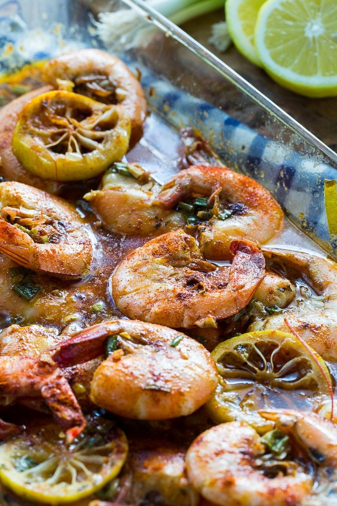 New Orleans Style Bbq Shrimp Spicy Southern Kitchen