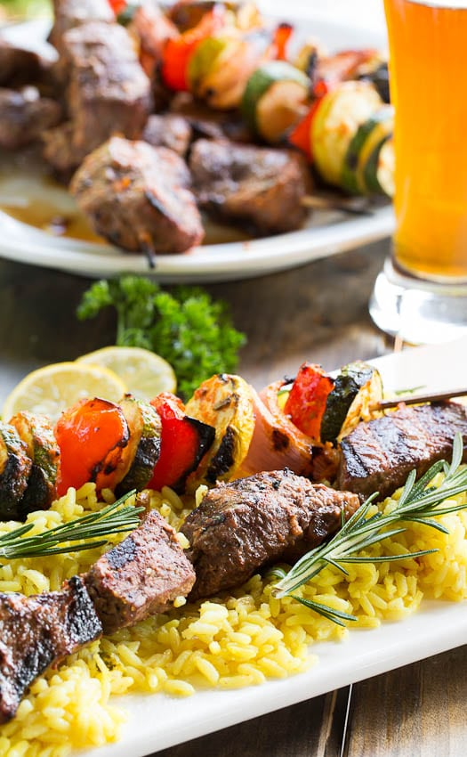 of my favorite my favorite grilled kabob grilled beef and corn kabobs ...
