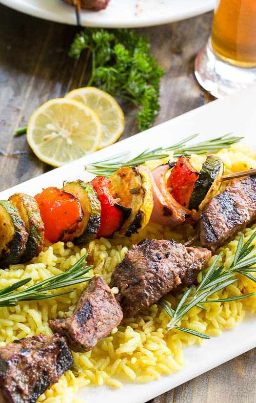 SEX and FOOD - Recipes & Sex Tips Club: [RECIPE] Grilled Beef Kabobs