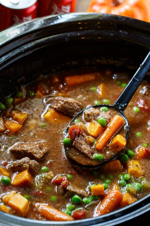 Slow Cooker E Beef Stew