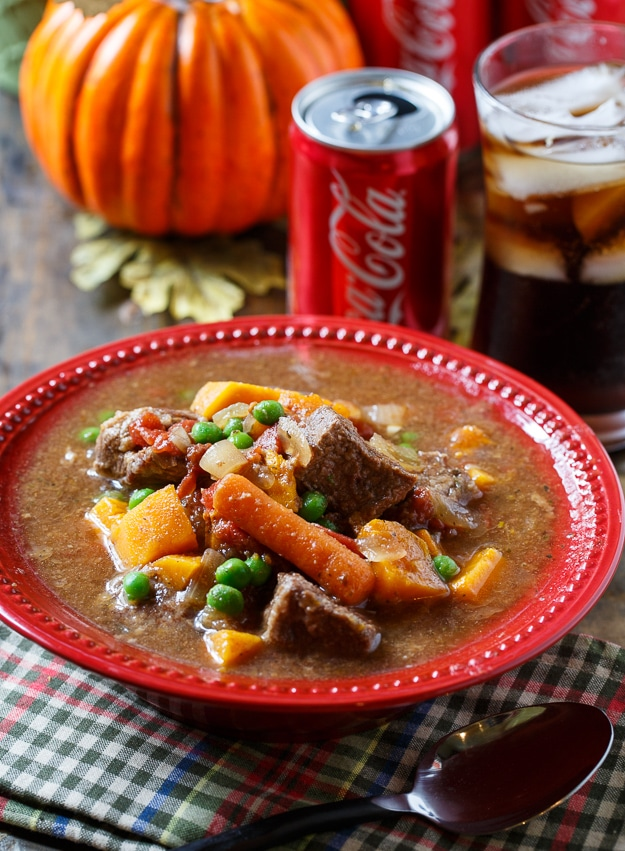 Slow Cooker Coke Beef Stew