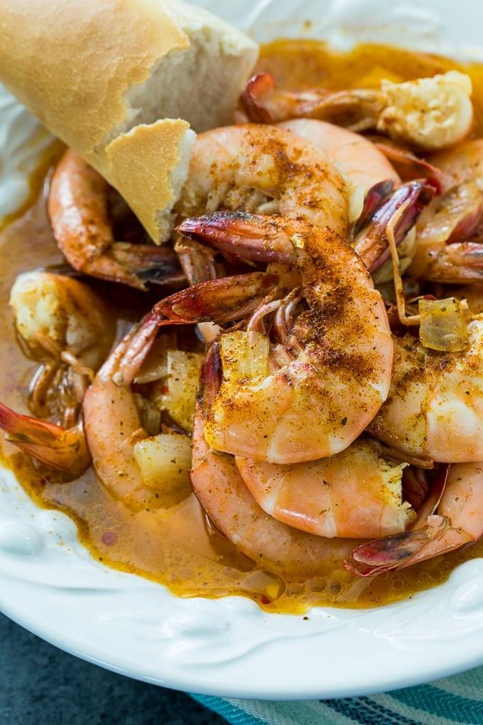 Spicy Beer Shrimp recipe