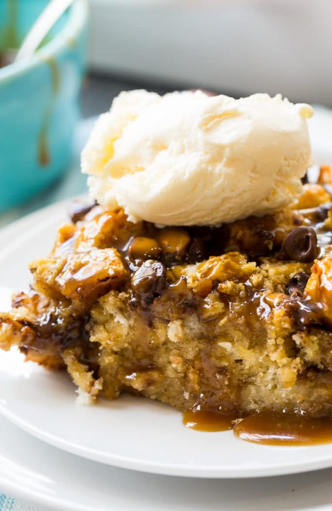 Toffee Biscuit Bread Pudding