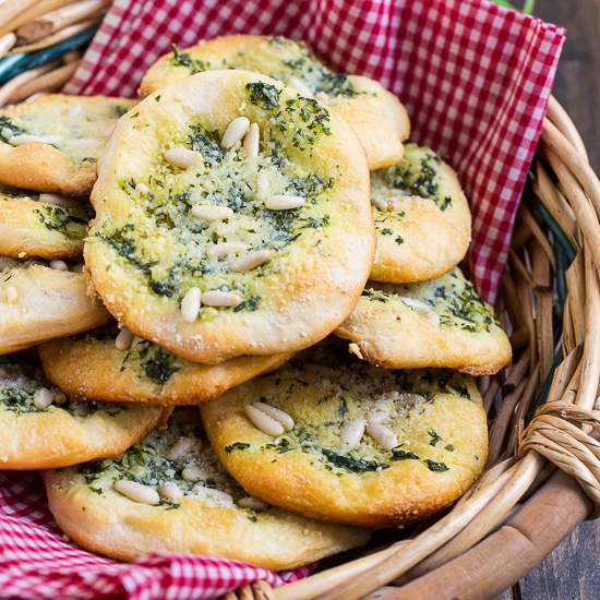 Biscuit Mini Focaccia