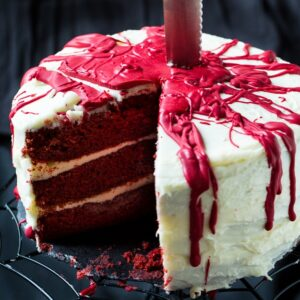 Bloody Red Velvet Cake