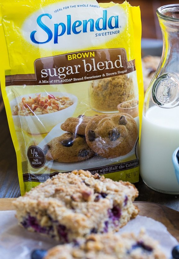 Lightened-Up Blueberry Coffee Cake #SweetSwaps #SplendaSweeties #ad