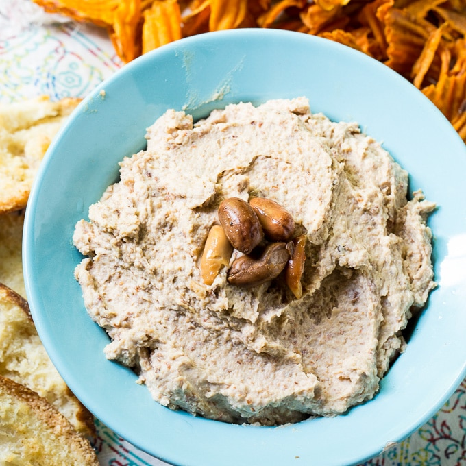 Spicy Boiled Peanut Hummus
