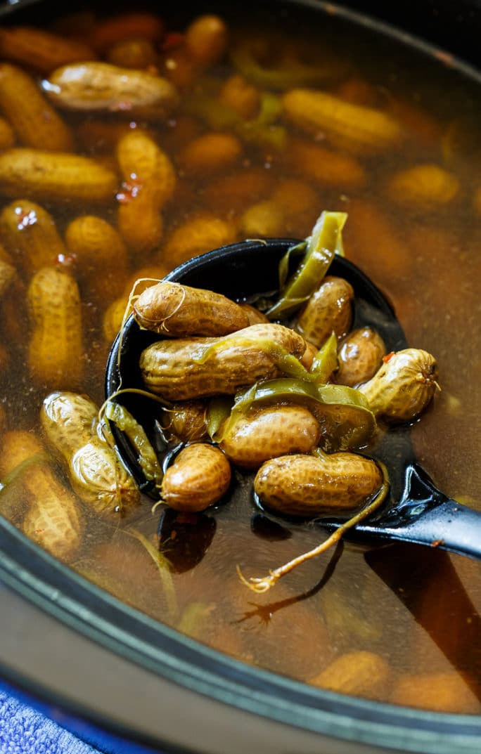 Crock Pot Spicy Boiled Peanuts