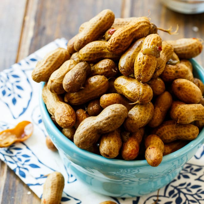 Crock Pot Spicy Boiled Peanuts - Spicy Southern Kitchen