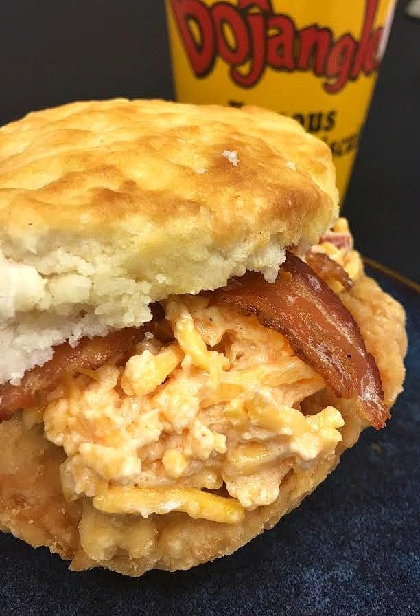 Bojangles Cajun Filet Biscuit