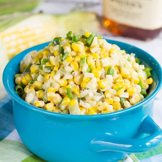 Bourbon Creamed Corn #southern