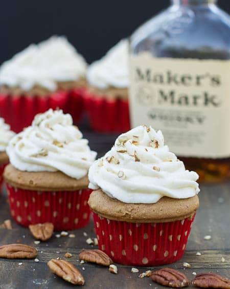 Bourbon Spice Cupcakes