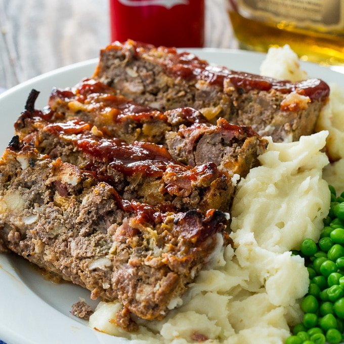 Bourbon And Coke Meatloaf Spicy Southern Kitchen