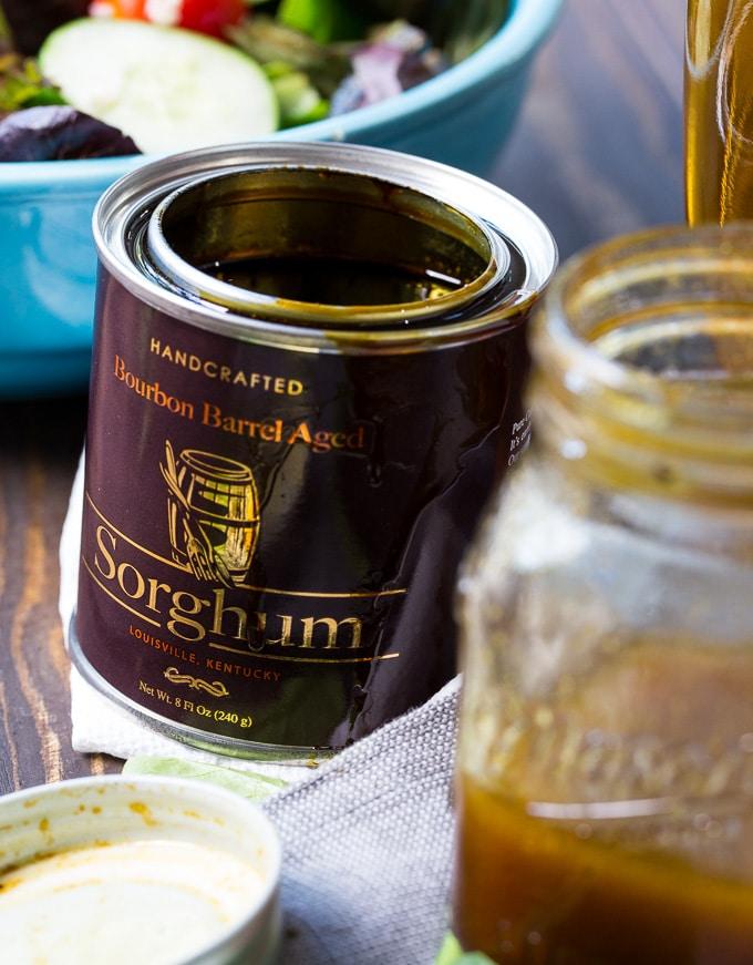 Bourbon Sorghum Vinaigrette