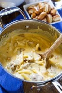 Bratwurst Mac and Cheese