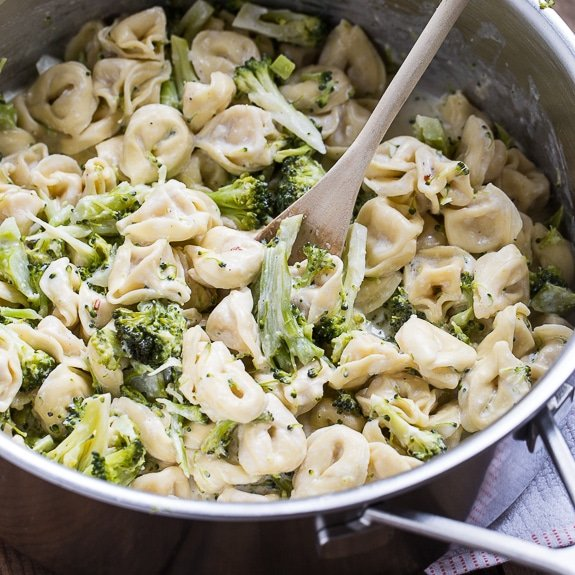 Broccoli Alfredo Tortellini Spicy Southern Kitchen