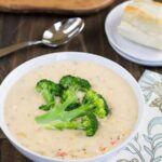 Queso-Broccoli Potato Soup