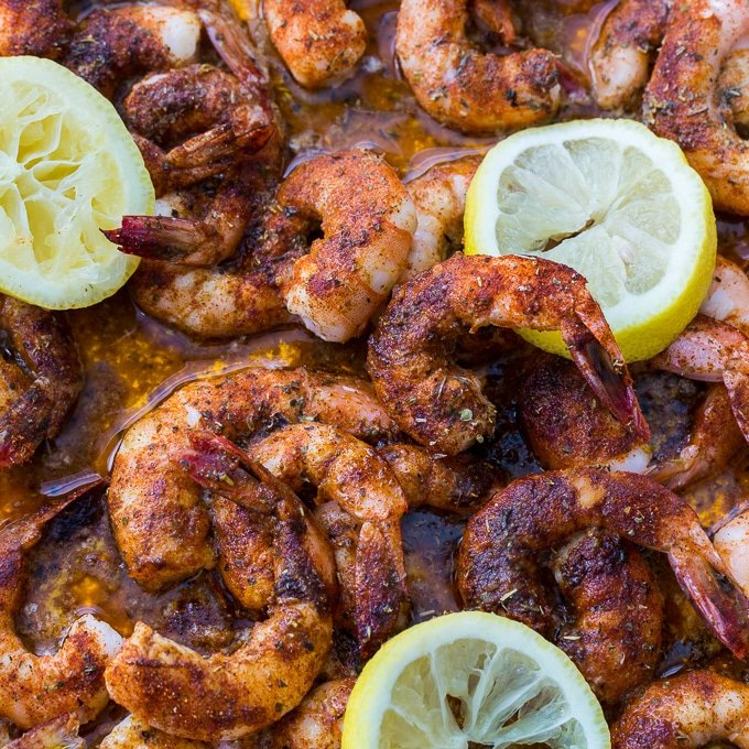 Buttery Broiled Shrimp Spicy Southern Kitchen