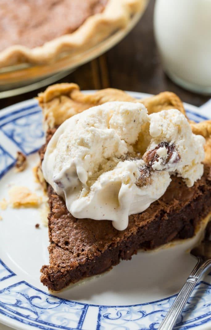 Brownie Pie- tastes like a fudgy brownie in a pie crust!