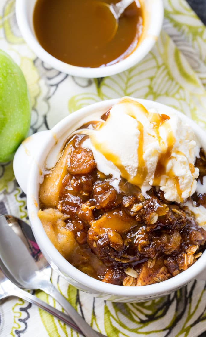 Crock Pot Butterscotch Apple Crisp