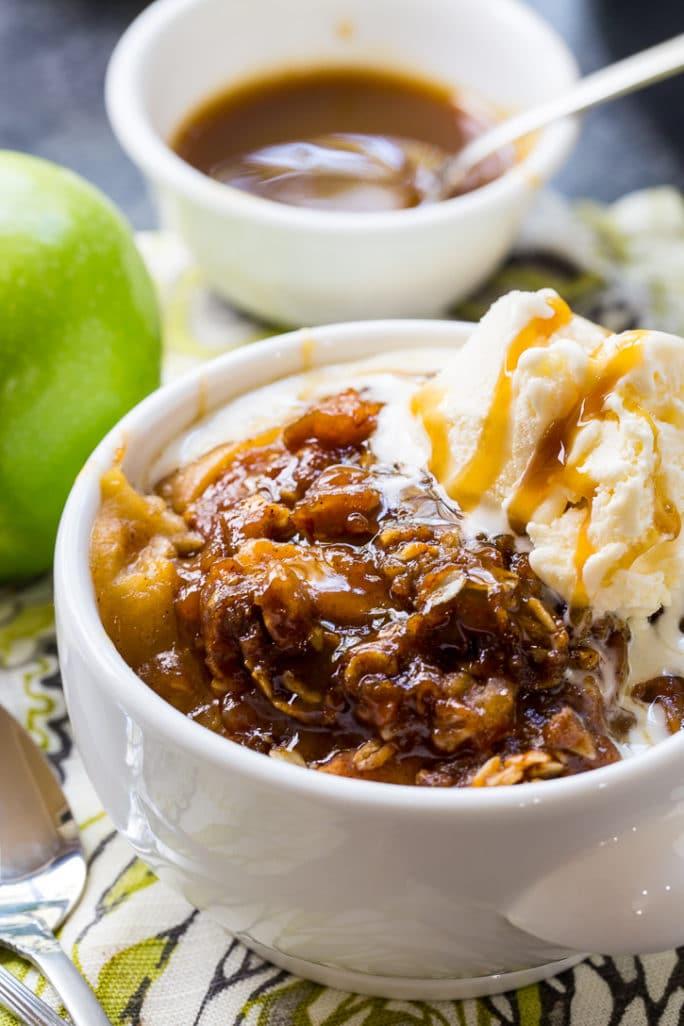 Crock Pot Butterscotch Apple Crisp