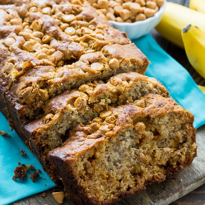 Butterscotch banana bread spicy southern kitchen butterscotch banana bread forumfinder Image collections