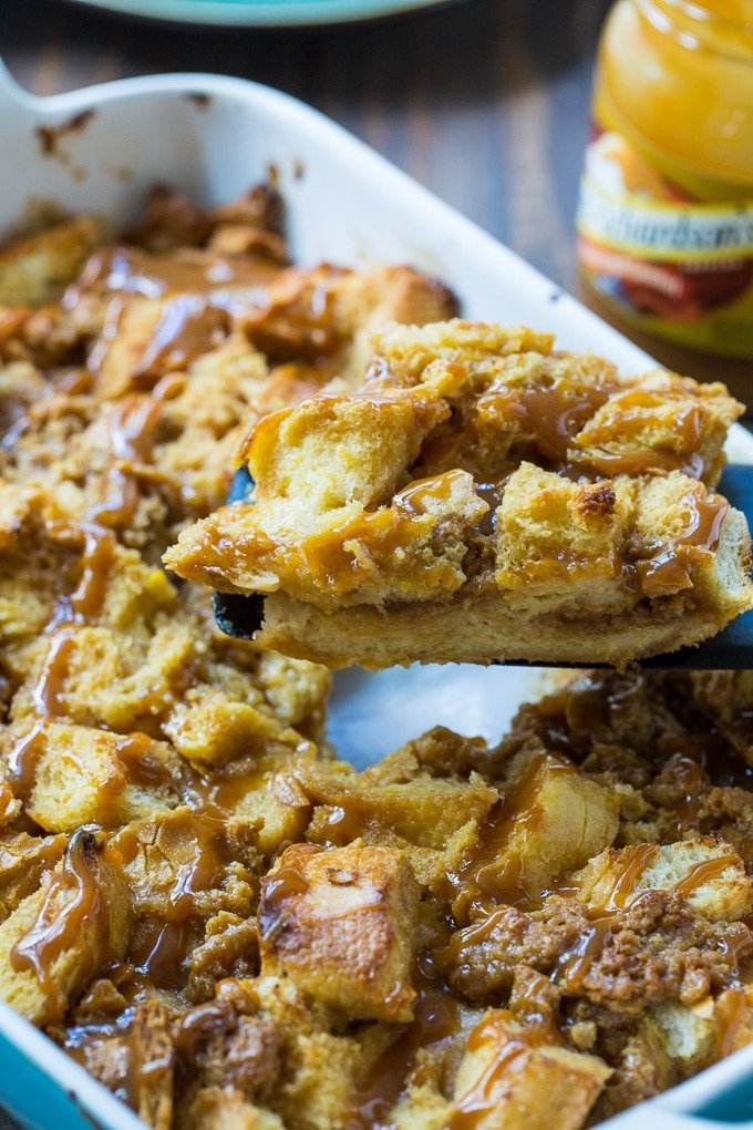 Easy Butterscotch French Toast Casserole