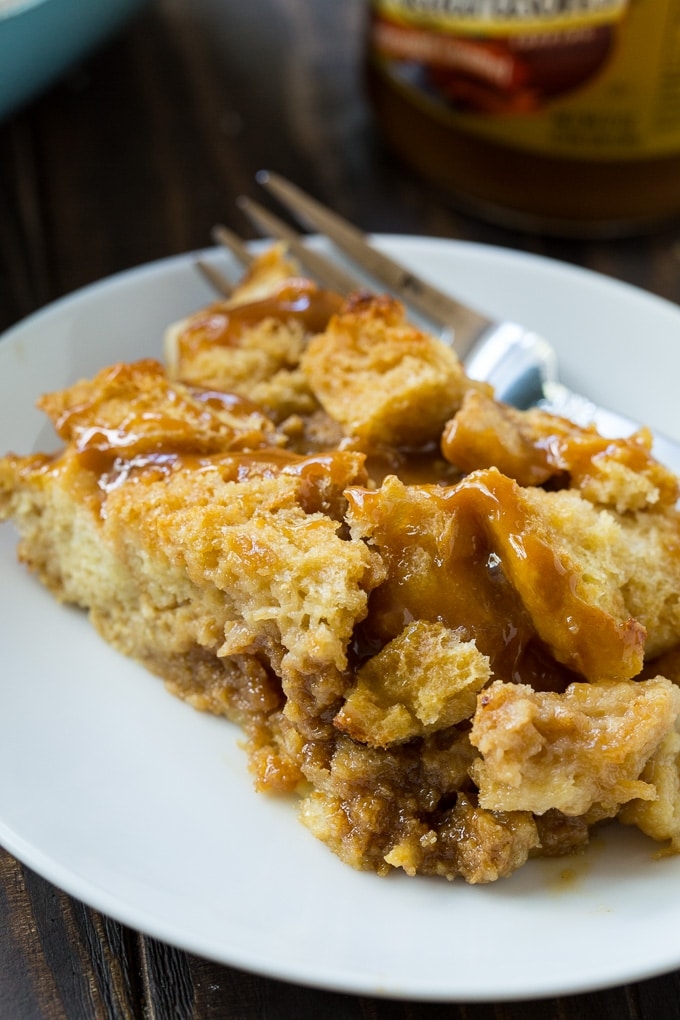 Overnight Butterscotch French Toast Casserole