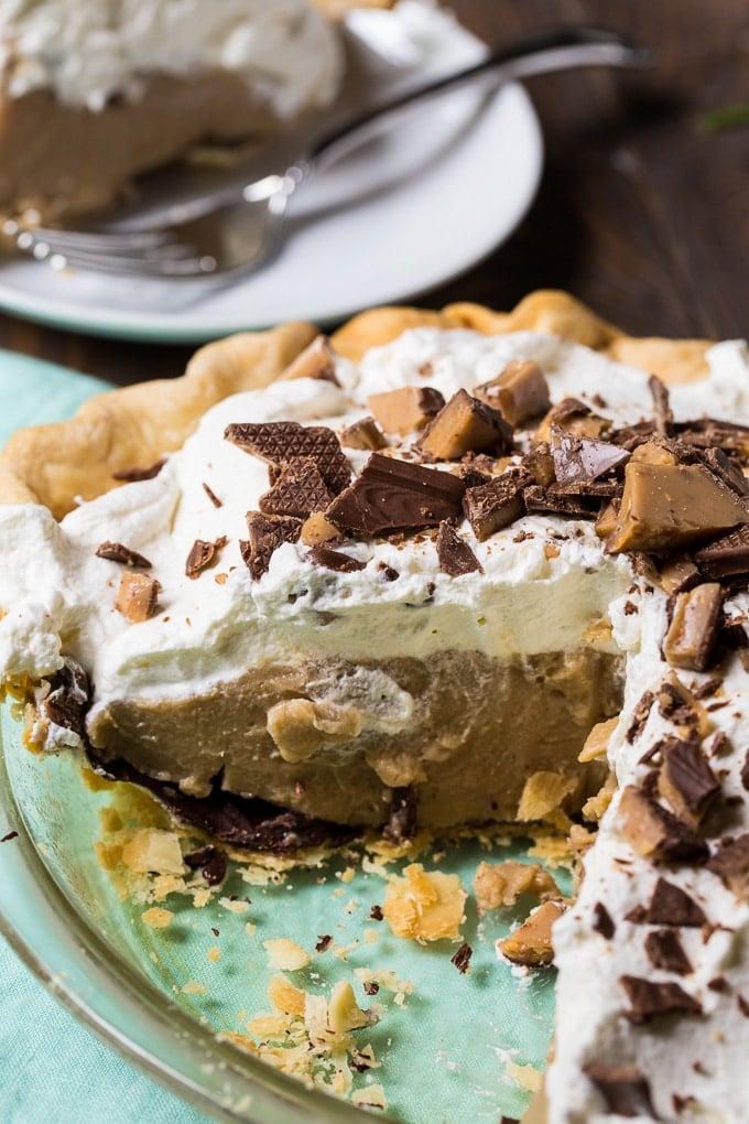 Butterscotch Pudding Pie