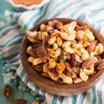 Cajun Nuts - make a great party snack or holiday appetizer.