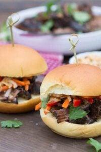 Korean Beef Sliders