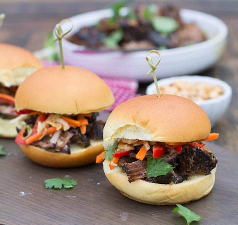 Korean Beef Sliders #CampbellsSkilledSaucers