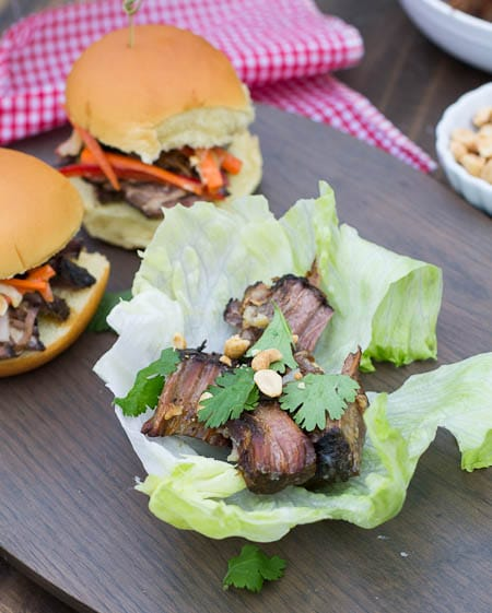 Korean Beef Lettuce Cups #CampbellsSkilledSaucers