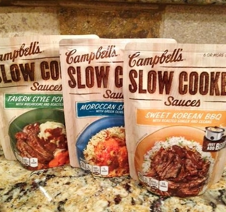 Campbell's Slow Cooker Sauce #CampbellsSkilledSaucers