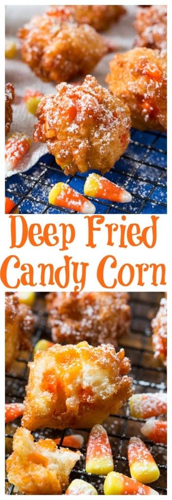 Deep Fried Candy Corn -surpirisingly delicious!