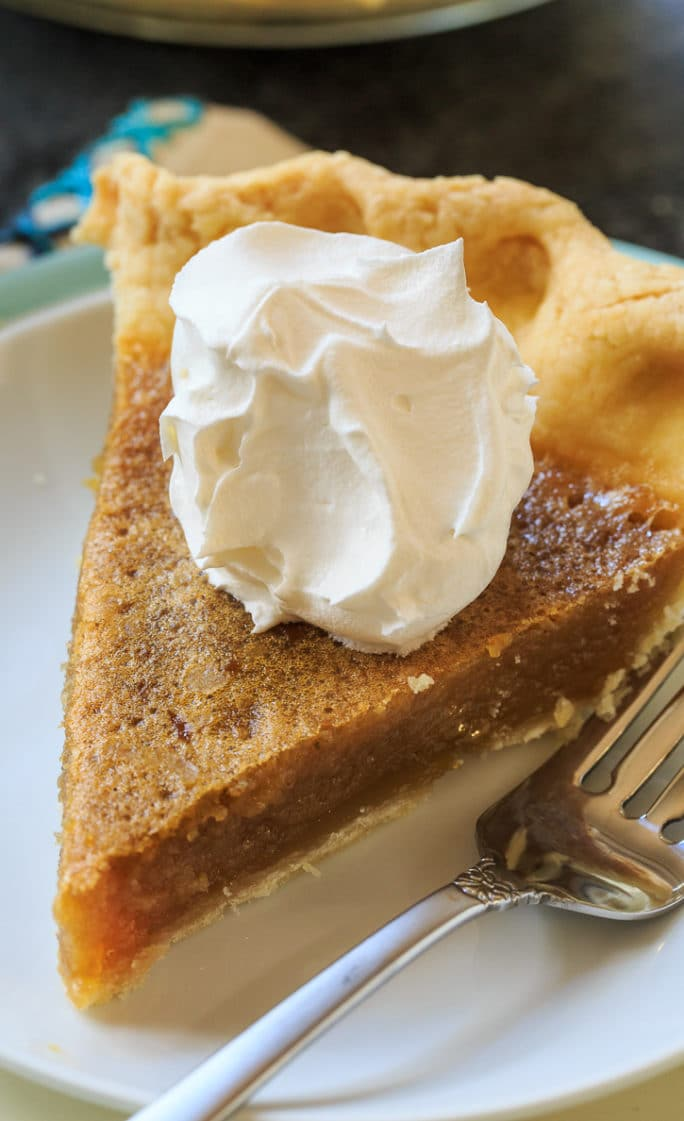 Caramel Chess Pie