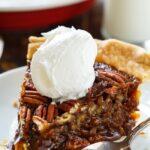 Paula Deen's Caramel Pecan Pie. Has a deep caramel flavor.