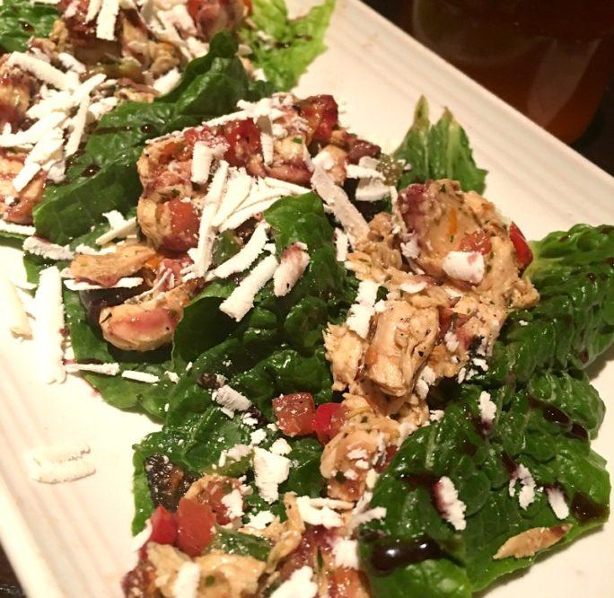 Carrabba's New Menu-  Italian Lettuce Wraps