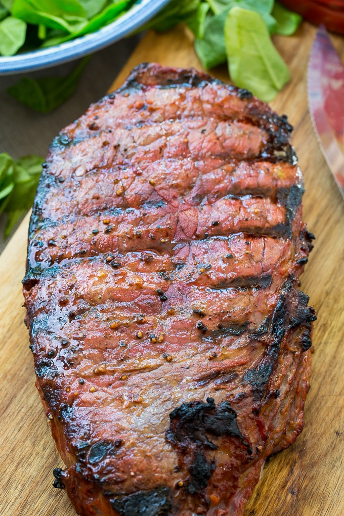 Grilled Catalina London Broil
