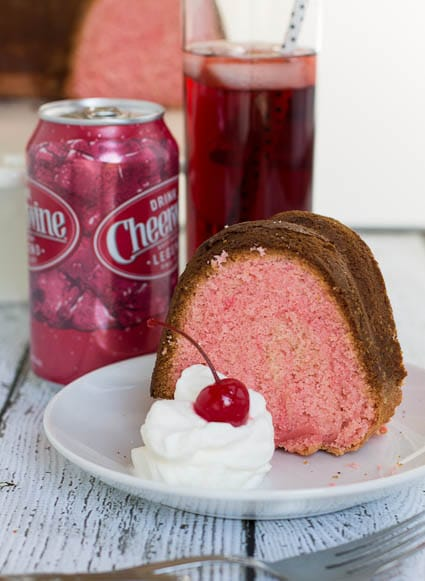 Cheerwine Poke Cake Our State