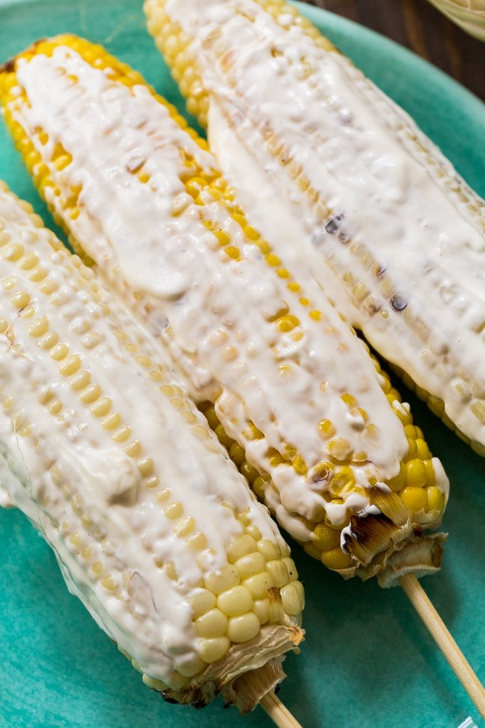 Flamin Hot Cheetos Corn on the Cob