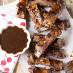 Grilled Spareribs with Cherry Cola Glaze