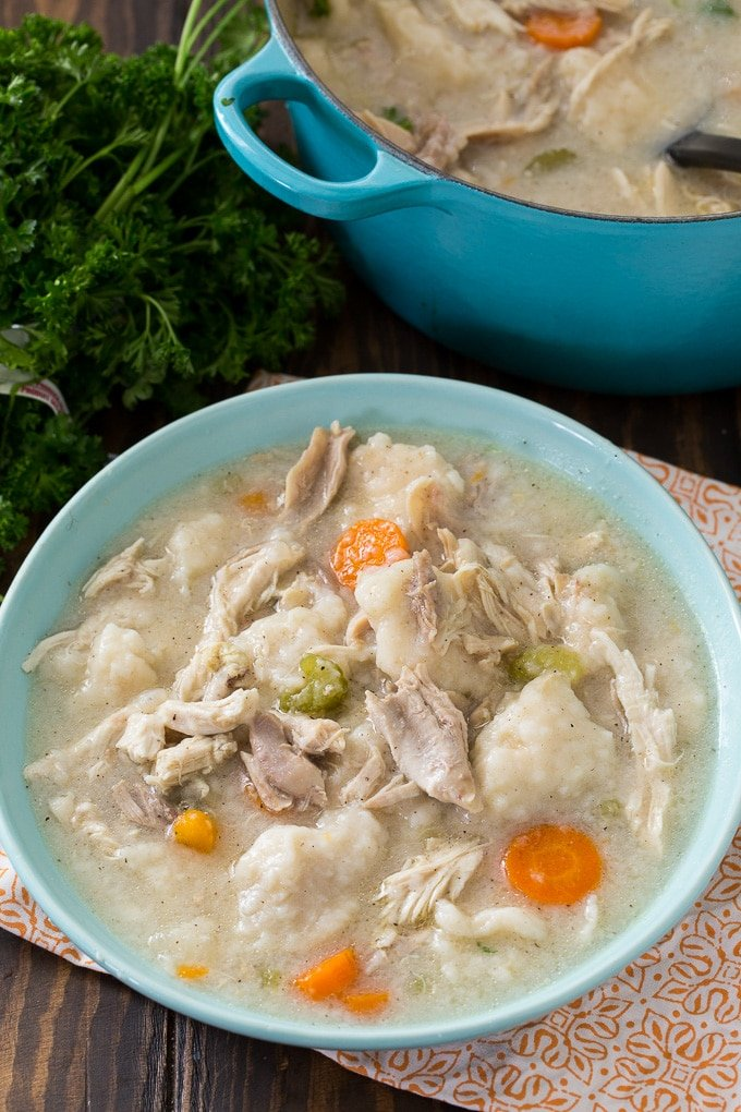 Old-Fashioned Chicken and Dumplings recipe
