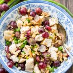 Chicken with Grapes and Mustard Vinaigrette