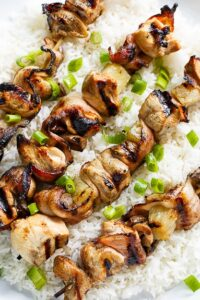 Chicken and Bacon Kabobs