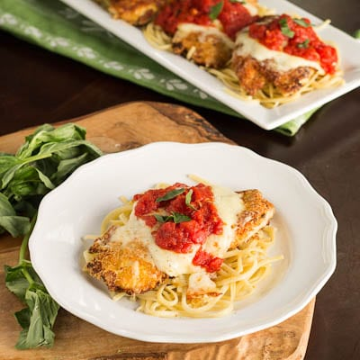 Chicken parmesan recipe spicy southern kitchen chciken parmesan save in this chicken parmesan recipe forumfinder Choice Image