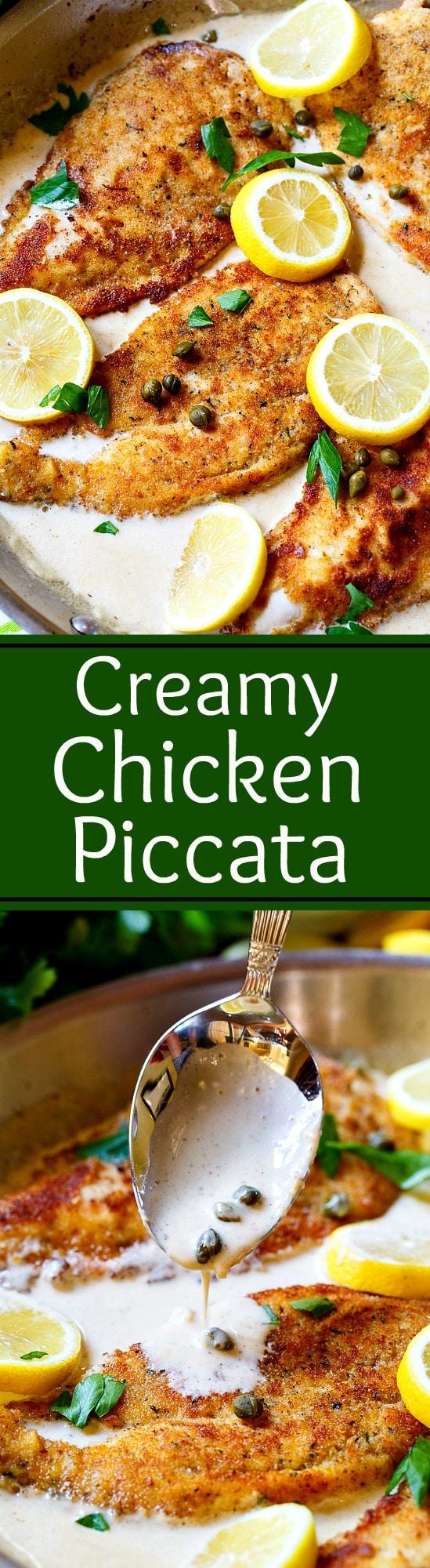 Creamy Chicken Piccata